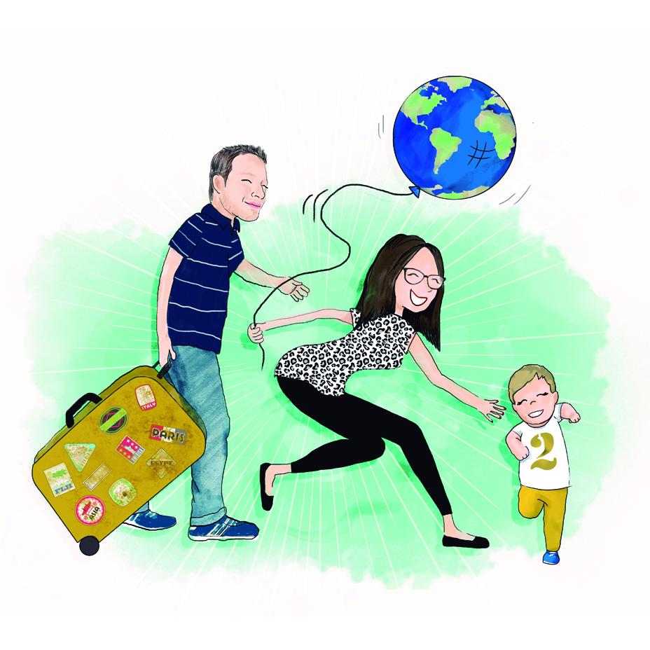 Tres maletas y un diario
